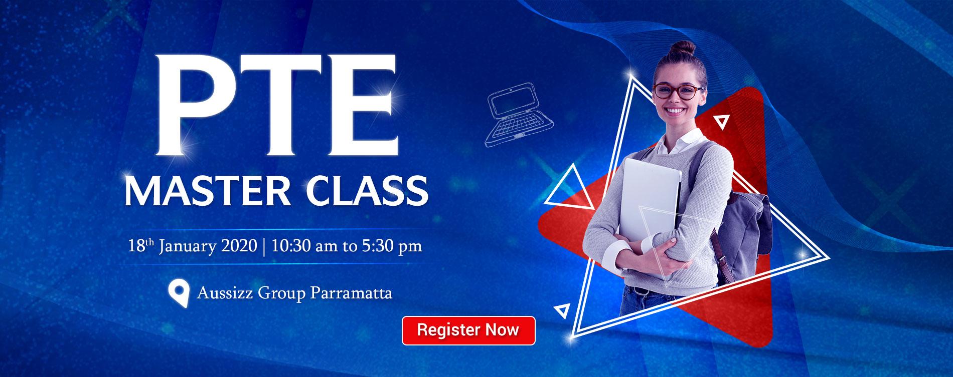 PTE Master Class