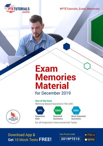 Exam Memories Material for December 2019
