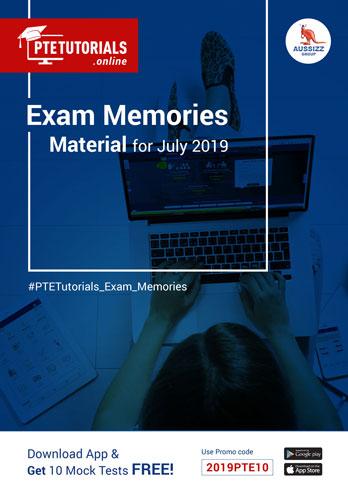 Exam Memories Materials July 2019
