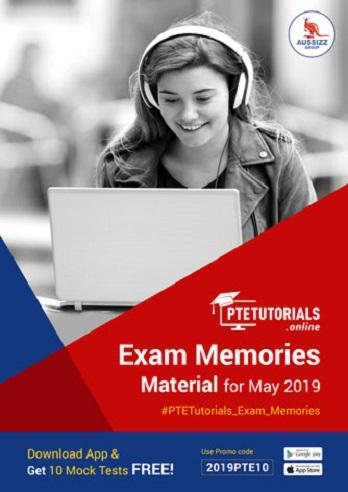 Exam Memories Materials May 2019