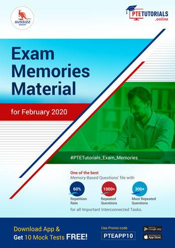PTE Exam Memories Materials