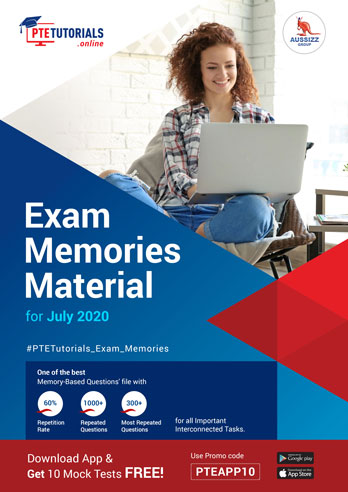 PTE Exam Memories Material for July 2020