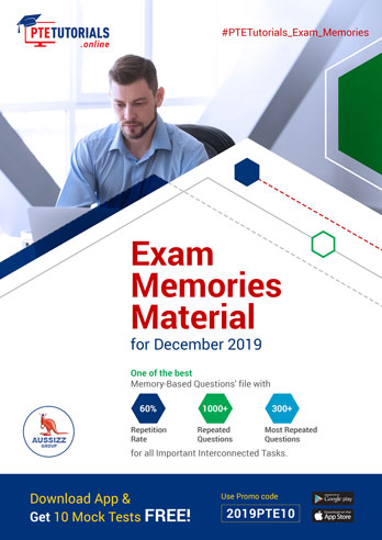 Exam Memories Material for December 2019