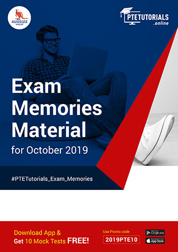 Exam Memories Materials October 2019