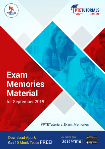 Exam Memories Materials September 2019