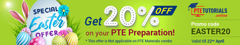 PTE Practice Easter Offer
