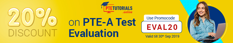PTE test evaluation