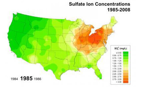Sulfate Ioc Concentrations