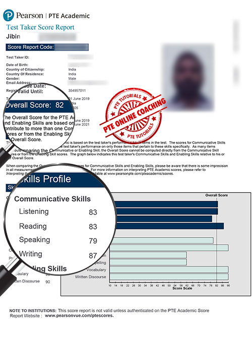 Scored & Unscored PTE Mock Test by PTE Tutorials