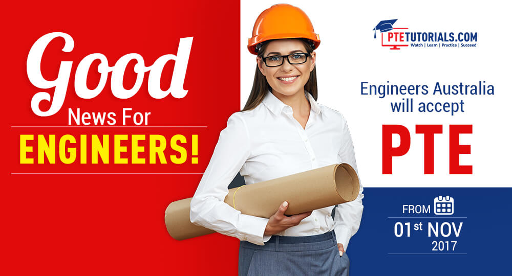 Engineers Australia will accept PTE