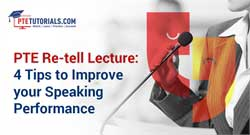 PTE Re-tell Lecture