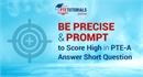 PTE Answer Short Questions